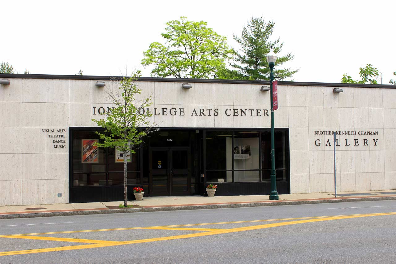Iona College Arts Center Brother Kenneth Chapman Gallery outside view