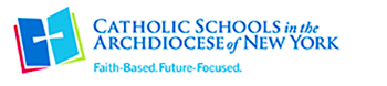 Catholic Schools in the Archdiocese of New York logo.