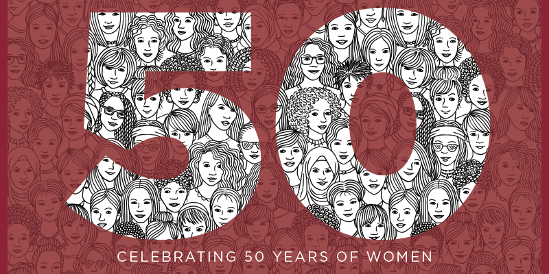 50 Celebrating women at Iona.