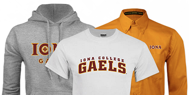 Iona hoody, tee shirt and button up shirt.
